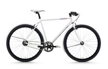 Creme Tempo Solo Hollandse Fiets Heren 3-Speed wit